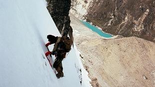 John Porter climbing