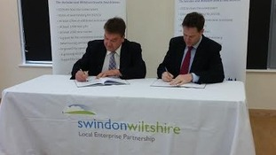 Nick Clegg signs multi-million pound contract in Swindon
