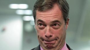 Leader of the UK Independence Party (Ukip), Nigel Farage