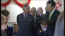 Royal visit to the College