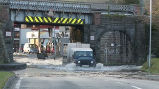 Flooding in Machynlleth