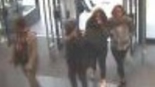 Three women and one man are believed to have concealed a number of items of clothing and accessories totalling in excess of £300