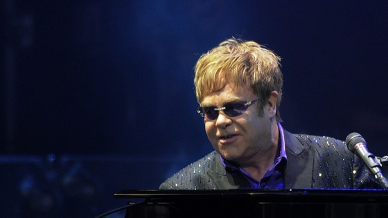 Elton John performs in Kiev.