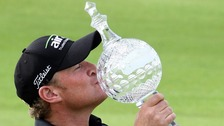 Jamie Donaldson and trophy