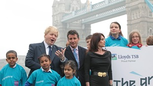 London mayor Boris Johnson is backing Olympics supremo Seb Coe.