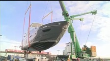 The 61st annual London Boat show, will run from January 9 - 11