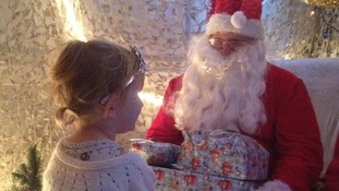Cosham Fire station - Santa's grotto