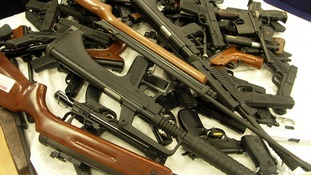 Police remove more than 200 guns from domestic violence suspects in a bid to prevent murders