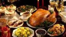 A traditional Christmas dinner - but will you forget an essential ingredient?