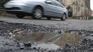 'Record amount' to be spent on potholes
