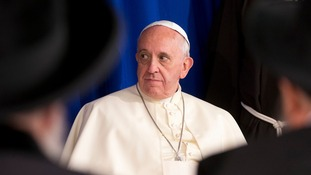 Pope launches scathing Christmas attack on the Vatican