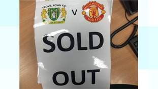 All the tickets were officially sold by 3pm.