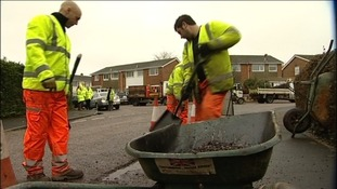 Tackling potholes in Devon