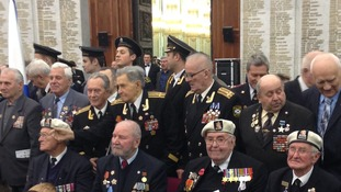 Soviet veterans reunite on the Thames