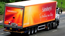The issues affect customers who were on the Sainsbury's website on Sunday.
