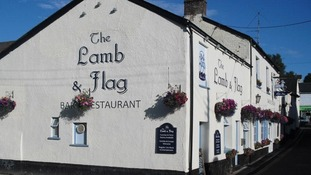 Betty Williams hired out every table in the Lamb & Flag for the event