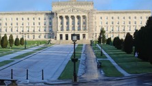 A front view of Stormont House.