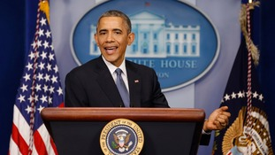President Obama welcomed Sony's decision, the White House said.