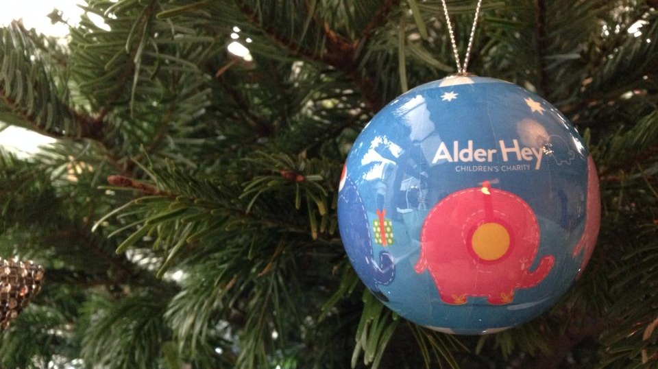 Christmas tree collection for Alder Hey Children's Hospital ...