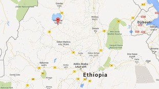 Bahir Dar is located about 300 miles north of the capital Addis Adaba.