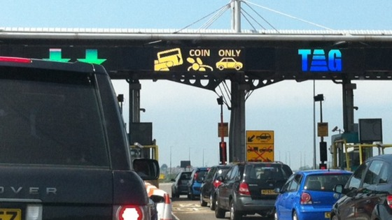 toll booths