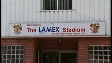 Stevenage's Lamex Stadium, Broadhall Way