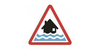 Flood warning symbol