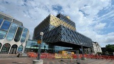 £189 million pound library in Birmingham City Centre.