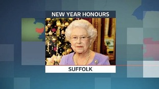 A number of people from Suffolk have been included in the 2014 New Year Honours list.