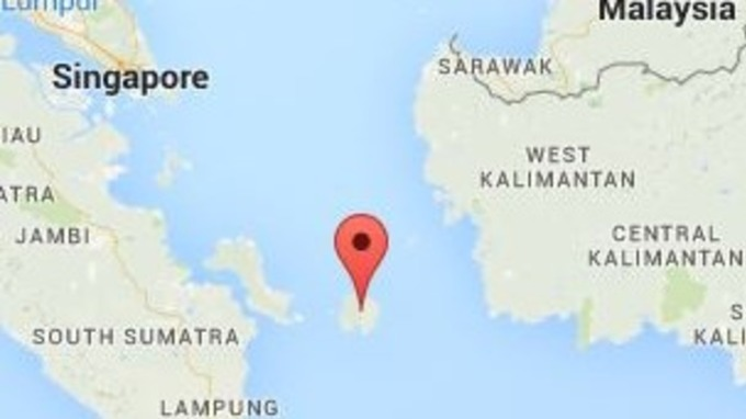 Waters around island in java sea searched for missing flight itv belitung is an island on the east coast of sumatra indonesia in the java sea publicscrutiny Images