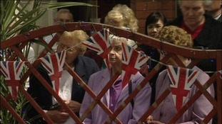 The Princess Royal receives a warm welcome