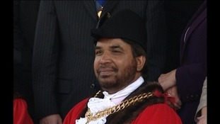 Harjit Gill at his mayor-making in 2007