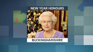 New Year Honours for people in Buckinghamshire