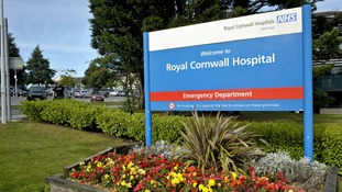 The patient was admitted to the Royal Cornwall Hospital in Truro last night.