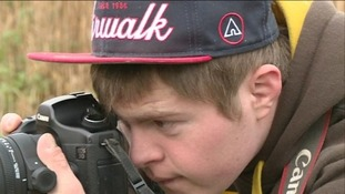 Teenager with Down's has a passion for photography