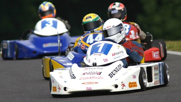 Many F1 drivers began their careers in carting