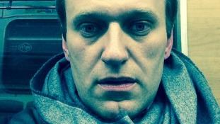 Kremlin critic Alexei Navalny.
