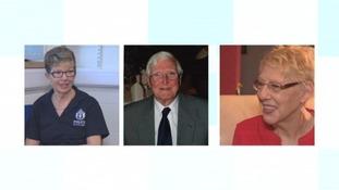 Catherine Ann Mitchell, Keith Buckler, Patricia Burns