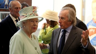 The Queen and Sir Jackie Stewart