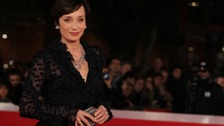 Actor Kristin Scott Thomas becomes a Dame Commander of the British Empire.
