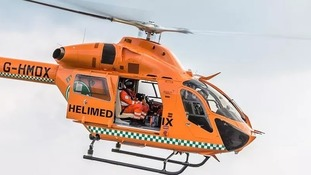 Magpas helicopter.