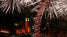 Those heading to see the fireworks in central London will be hoping for dry weather.
