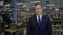 Cameron urges voters to stay with Conservatives in New Year message