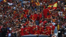 The Spanish football team