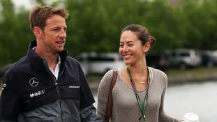 Jenson Button has married Jessica Michibata