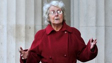 Kathleen Derby, 72, has claimed she was 'treated worse than a dog' while in police custody.