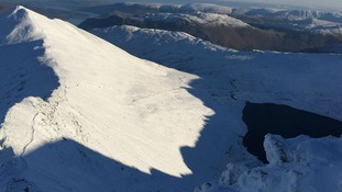 Man rescued from Helvellyn in 'atrocious weather'