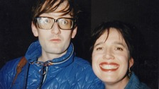 Deborah Bone pictured with her friend Jarvis Cocker.