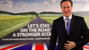 David Cameron launches Tory campaign for 'the most important election for a generation'