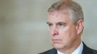 Prince Andrew underage sex claim denied by Buckingham Palace